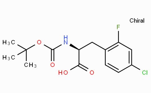 Boc-L-2-Fluoro-4-chlorophenylalanine