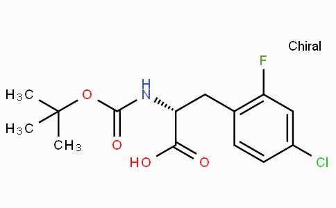 Boc-D-2-Fluoro-4-chlorophenylalanine
