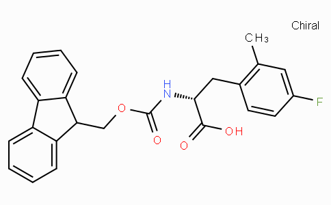 Fmoc-D-2-methyl-4-fluorophenylalanine