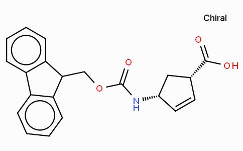(-)-(1S,4R)-N-Fmoc-4-Aminocyclopent-2-enecarboxylic acid