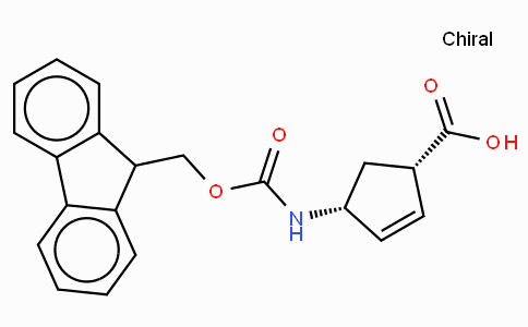 (+)-(1R,4S)-N-Fmoc-4-Aminocyclopent-2-enecarboxylic acid