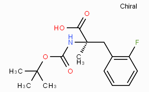 Boc-alpha-methyl-D-2-Fluorophenylalanine