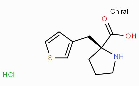 (S)-alpha-(3-thiophenylmethyl)-proline-HCl
