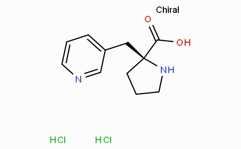 (S)-alpha-(3-pyridinylmethyl)-proline-2HCl
