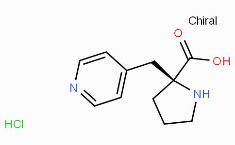 (S)-alpha-(4-pyridinylmethyl)-proline-HCl