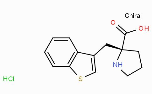 (R)-alpha-(3-benzothiophenylmethyl)-proline-HCl