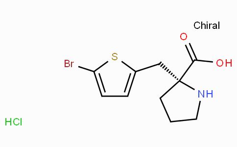 (R)-alpha-(5-bromo-2-thiophenylmethyl)-proline-HCl