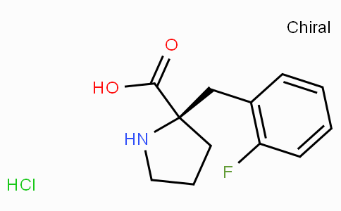 (R)-alpha-(2-fluoro-benzyl)-proline-HCl