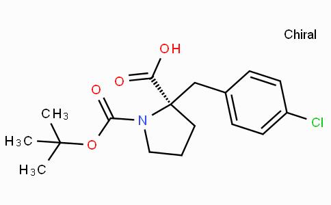 Boc-(R)-alpha-(4-chloro-benzyl)-proline