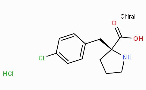 (S)-alpha-(4-chloro-benzyl)-proline-HCl