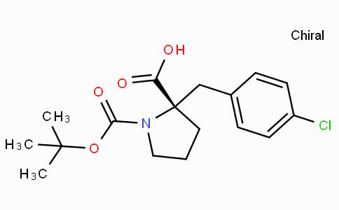 Boc-(S)-alpha-(4-chloro-benzyl)-proline