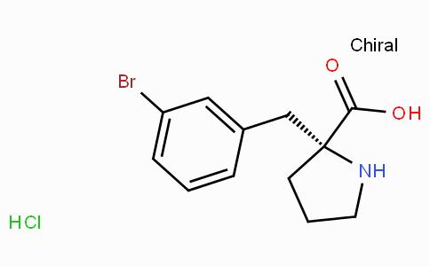 (R)-alpha-(3-bromo-benzyl)-proline-HCl