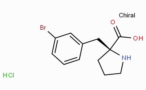 (S)-alpha-(3-bromo-benzyl)-proline-HCl