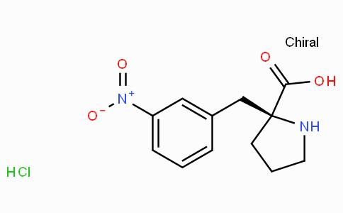 (S)-alpha-(3-nitro-benzyl)-proline-HCl