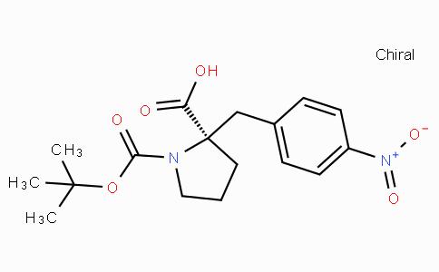 Boc-(R)-alpha-(4-nitro-benzyl)-proline