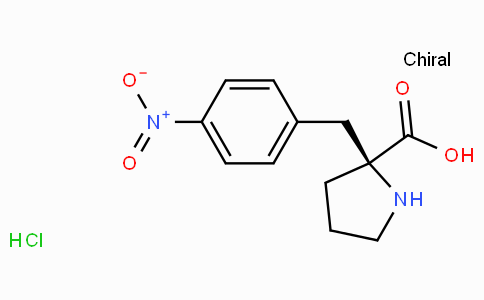 (S)-alpha-(4-nitro-benzyl)-proline-HCl