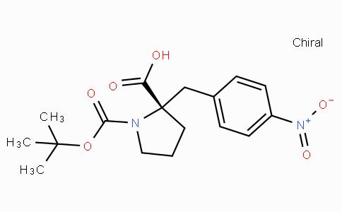 Boc-(S)-alpha-(4-nitro-benzyl)-proline