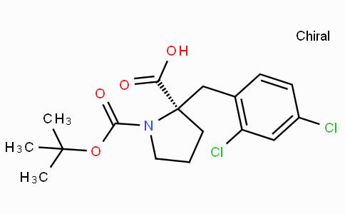 Boc-(R)-alpha-(2,4-dichloro-benzyl)-proline