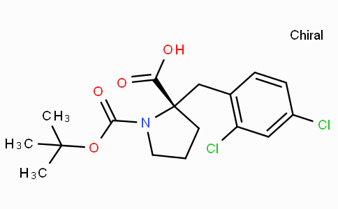 Boc-(S)-alpha-(2,4-dichloro-benzyl)-proline