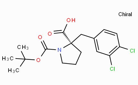 Boc-(R)-alpha-(3,4-dichloro-benzyl)-proline
