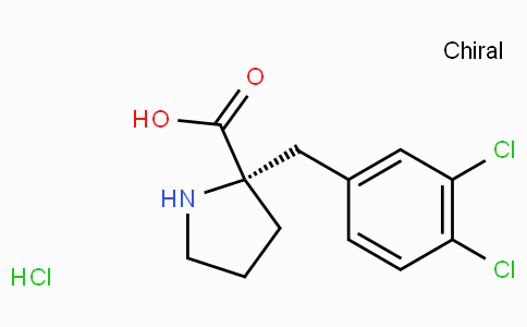 (S)-alpha-(3,4-dichloro-benzyl)-proline-HCl