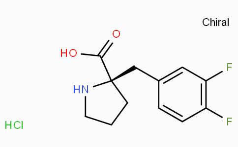 (R)-alpha-(3,4-difluoro-benzyl)-proline-HCl