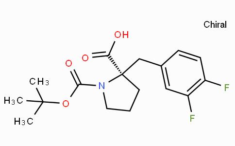 Boc-(R)-alpha-(3,4-difluoro-benzyl)-proline