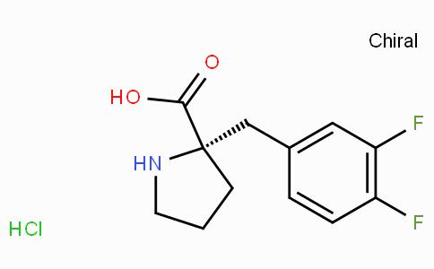 (S)-alpha-(3,4-difluoro-benzyl)-proline-HCl
