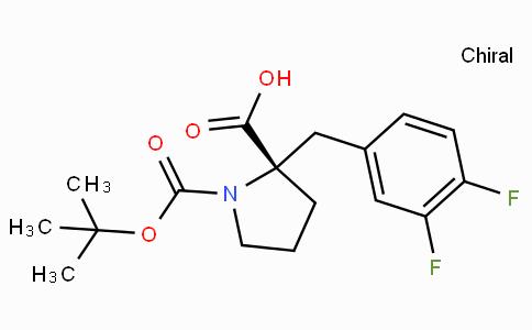 Boc-(S)-alpha-(3,4-difluoro-benzyl)-proline