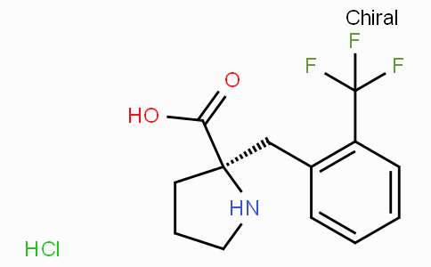(R)-alpha-(2-trifluoromethyl-benzyl)-proline-HCl