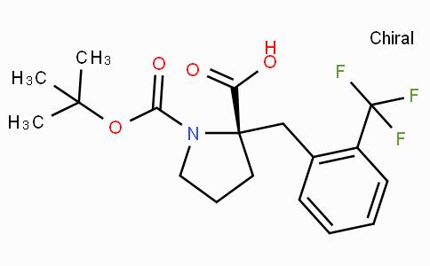 Boc-(S)-alpha-(2-trifluoromethyl-benzyl)-proline