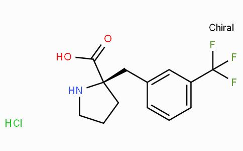 (R)-alpha-(3-trifluoromethyl-benzyl)-proline-HCl