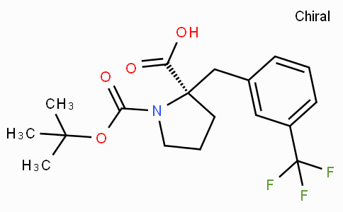 Boc-(R)-alpha-(3-trifluoromethyl-benzyl)-proline