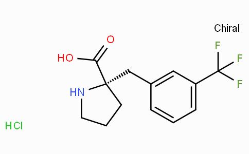 (S)-alpha-(3-trifluoromethyl-benzyl)-proline-HCl