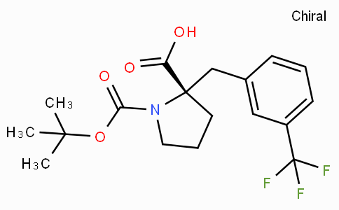 Boc-(S)-alpha-(3-trifluoromethyl-benzyl)-proline
