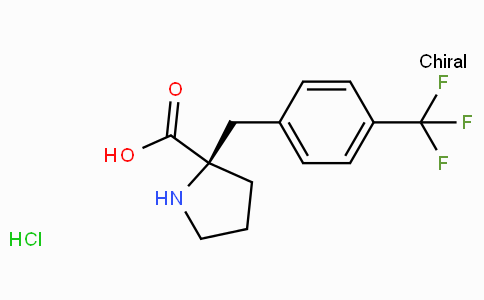 (R)-alpha-(4-trifluoromethyl-benzyl)-proline-HCl