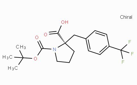 Boc-(R)-alpha-(4-trifluoromethyl-benzyl)-proline