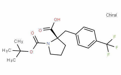 Boc-(S)-alpha-(4-trifluoromethyl-benzyl)-proline