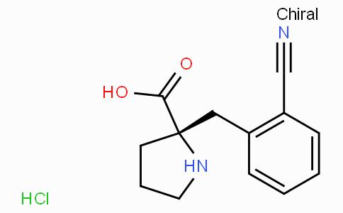 (S)-alpha-(2-cyano-benzyl)-proline-HCl