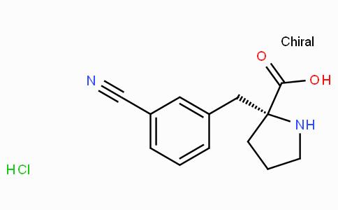 (R)-alpha-(3-cyano-benzyl)-proline-HCl