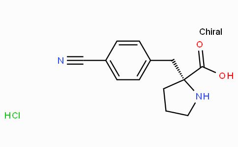 (R)-alpha-(4-cyano-benzyl)-proline-HCl
