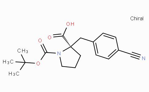Boc-(R)-alpha-(4-cyano-benzyl)-proline