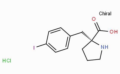 (R)-alpha-(4-iodo-benzyl)-proline-HCl