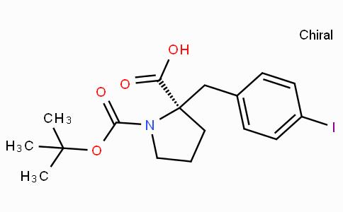 Boc-(R)-alpha-(4-iodo-benzyl)-proline