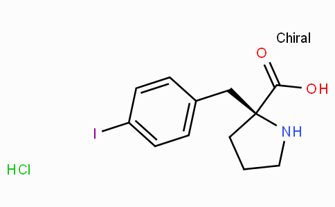 (S)-alpha-(4-iodo-benzyl)-proline-HCl