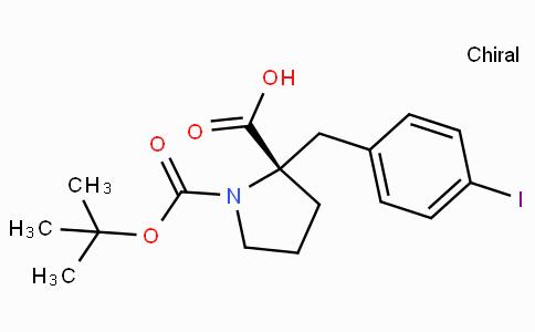 Boc-(S)-alpha-(4-iodo-benzyl)-proline