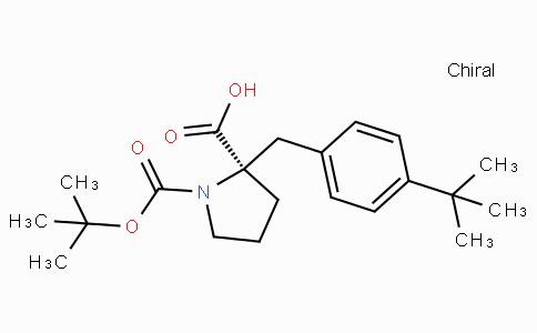 Boc-(R)-alpha-(4-tert-Butyl-benzyl)-proline