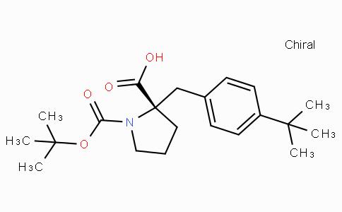 Boc-(S)-alpha-(4-tert-Butyl-benzyl)-proline