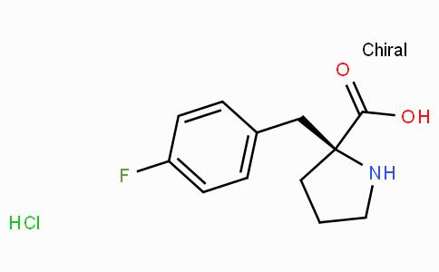 (S)-alpha-(4-fluoro-benzyl)-proline-HCl