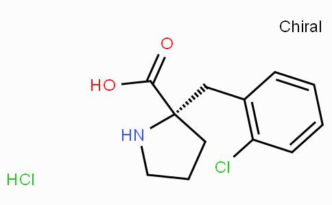 (S)-alpha-(2-chloro-benzyl)-proline-HCl